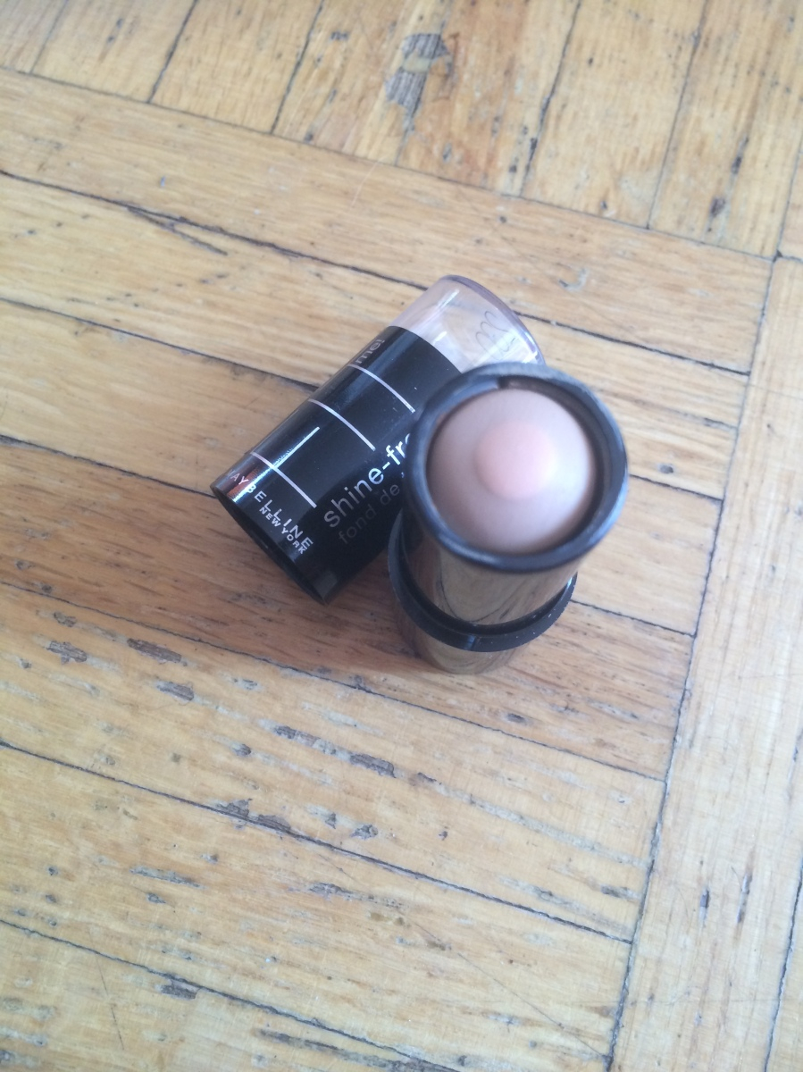 Maybelline Fit me shine free foundation stick!!
