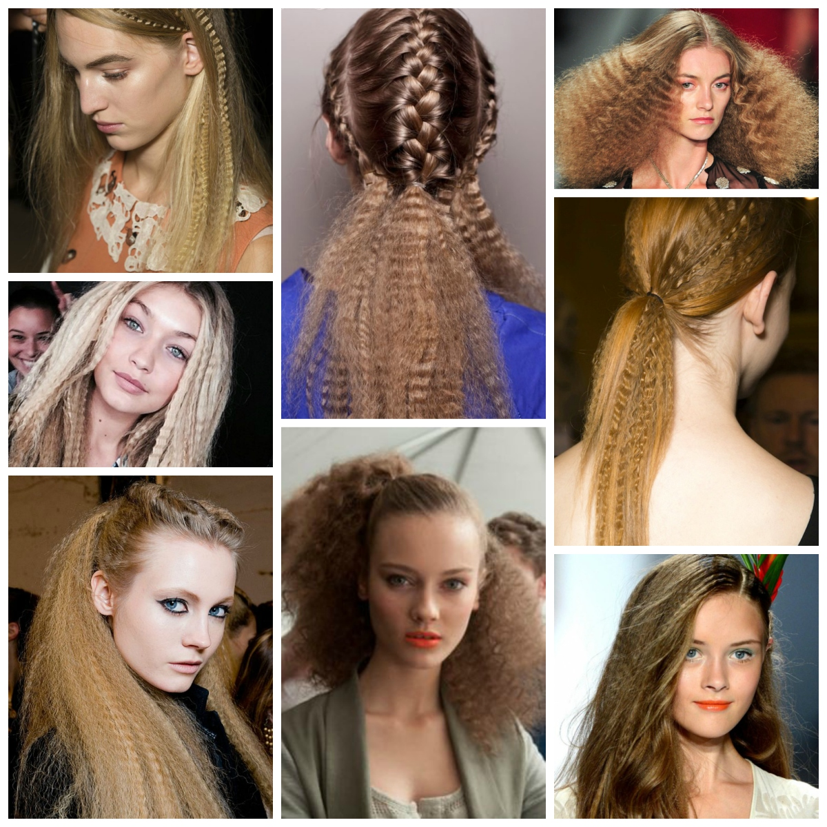 2015 hair trend - The new Crimp!
