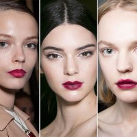 Plum lips are everywhere!