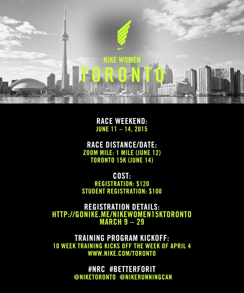 Nike Women Toronto Race Weekend