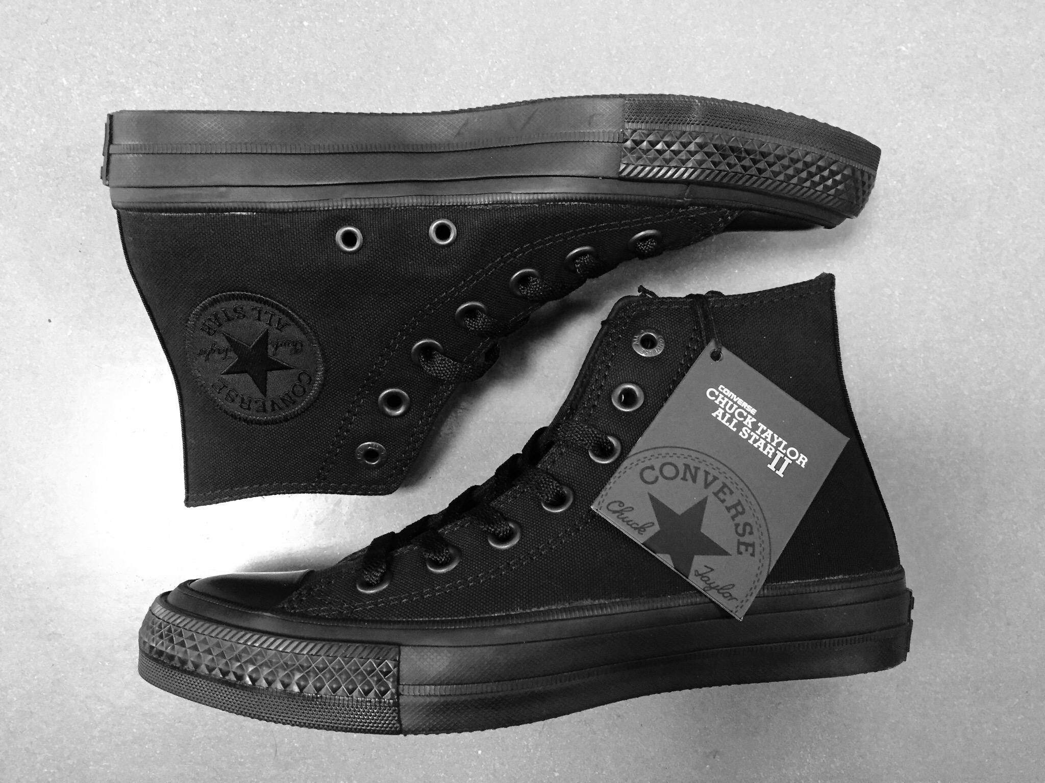 converse chuck taylor 2 all black