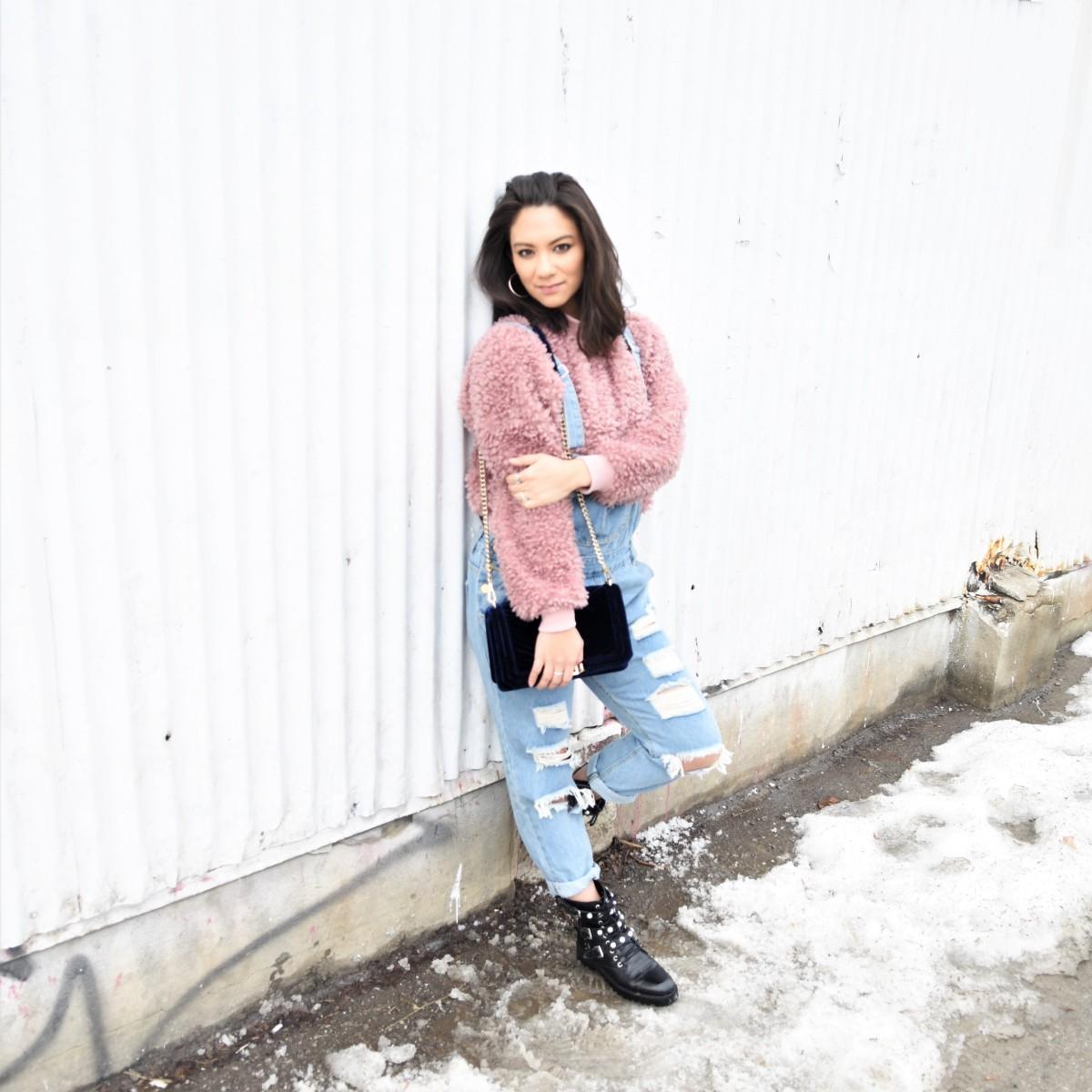 Trend Alert: Faux Fur Sweatshirts
